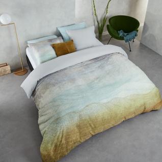 Beddinghouse Bettwäsche LAGUNE blau, grün100 % Baumwolle helle Sommerbettwäsche