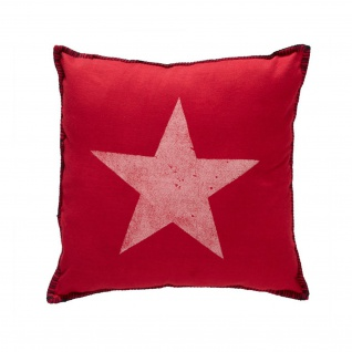 At Home With Marieke Sofakissen Starlight red 40x40 cm