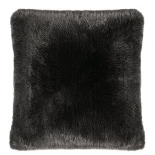 Pad Kissen SHERIDAN Felloptik grey 45 x 45 cm