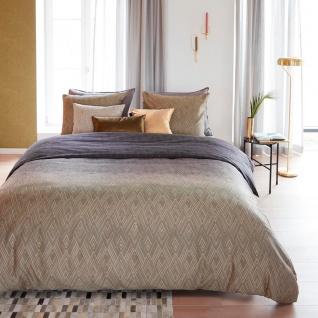 Beddinghouse Baumwollsatin Bettwäsche Points and Lines Natural aus 100% Baumwolle