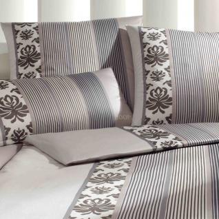 JOOP! Bettwäsche Ornament Stripes 4022-77 beige elegant klassisch - Vorschau 2