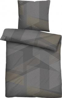 Biberna Bettwäsche Maco-Baumwolle-Satin 636136-020 titanium