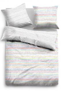 Tom Tailor Linon Bettwäsche Streifen 49781-844 grau