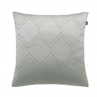 JOOP! Kissenhülle Elegana 50 x 50 cm Rauten-Muster glänzend edel leicht glänzend - Vorschau 3