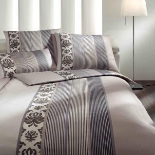 JOOP! Bettwäsche Ornament Stripes 4022-77 beige elegant klassisch - Vorschau 1