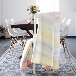 Biederlack Wohndecke Rainbow 150 x 200 cm pastell Baumwollmischung Wellen