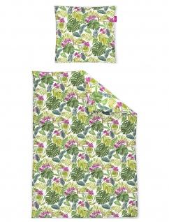 freundin Mako-Satin Bettwäsche Corado 8939-30 florales Muster