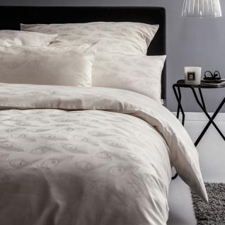 Estella Exquisit Damast Bettwäsche Junis elfenbein 100% Baumwolle