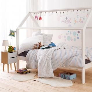 Estella Mako-Satin Kids Bettwäsche Pünktchen 7228-985 multicolor 100% Baumwolle