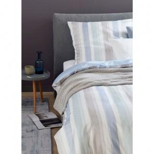 Schöner Wohnen Bettwäsche MILLIE Blau-Mint 100% Baumwolle Pastell Farbverlauf