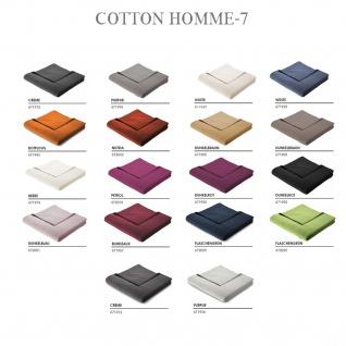 Bocassa by Biederlack Cotton-Home-7 Decke 150 x 200 cm