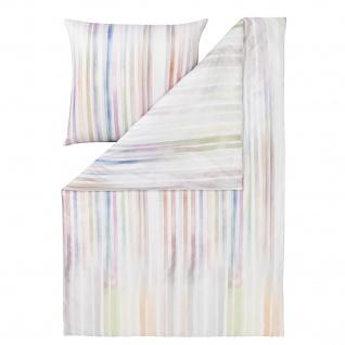 Estella Mako-Satin Bettwäsche Mikado 4742-985 multicolor 100% Baumwolle Streifen