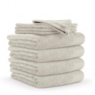 WARLA Frottierserie Soft Cotton kiesel