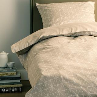 Schöner Wohnen Bettwäsche Grid | 30 beige