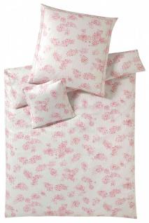 Elegante Mako-Satin Bettwäsche Etienne 2121-1 rosa