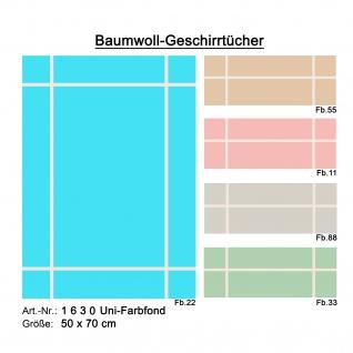Ross Baumwolle Geschirrtuch 1630 50 x 70 cm mit Farbauswahl