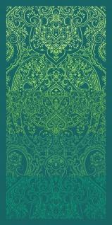 Bassetti Strandtuch Nabucco V1 grün 90 x 180 cm Paisleymuster