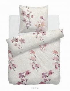 HnL Velvet-Touch Bettwäsche Savona Multi aus Baumwolle 155 x 220 cm wärmend