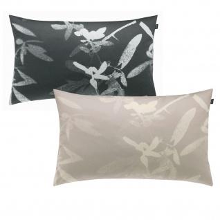 JOOP! Kissenhülle IRA 40 x 60 cm mit mit floralem Muster und Logo
