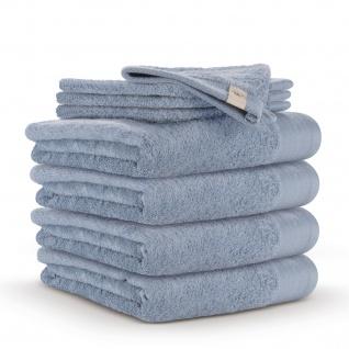 WALRA Frottierserie Soft Cotton blau