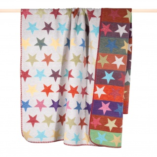 PAD Wohndecke STARS multi 150 x 200 cm