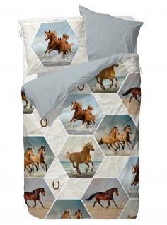 Covers & Co. Renforce Bettwäsche Lucky Blue