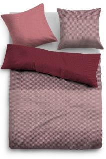 Tom Tailor Baumwollsatin Bettwäsche 69863-840 barolo aus 100 % Baumwolle
