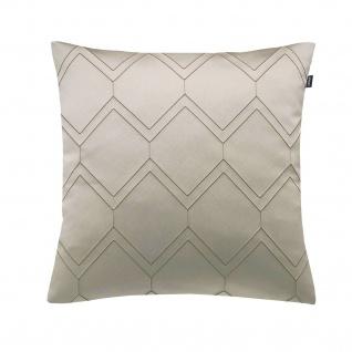 JOOP! Kissenhülle Elegana 50 x 50 cm Rauten-Muster glänzend edel leicht glänzend - Vorschau 5