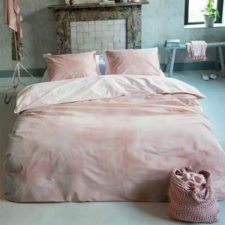 WALRA Bettwäsche Baumwolle Renforcé Cloudy Days rosa