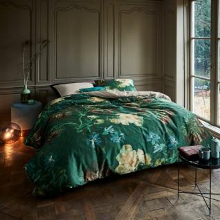 Beddinghouse Baumwollsatin Bettwäsche van Gogh Peonies grün 100% Baumwolle