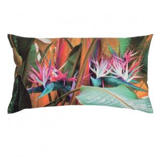 pad Kissenhülle Boca multi 35 x 60 cm Baumwolle - Canva exotische Pflanzen