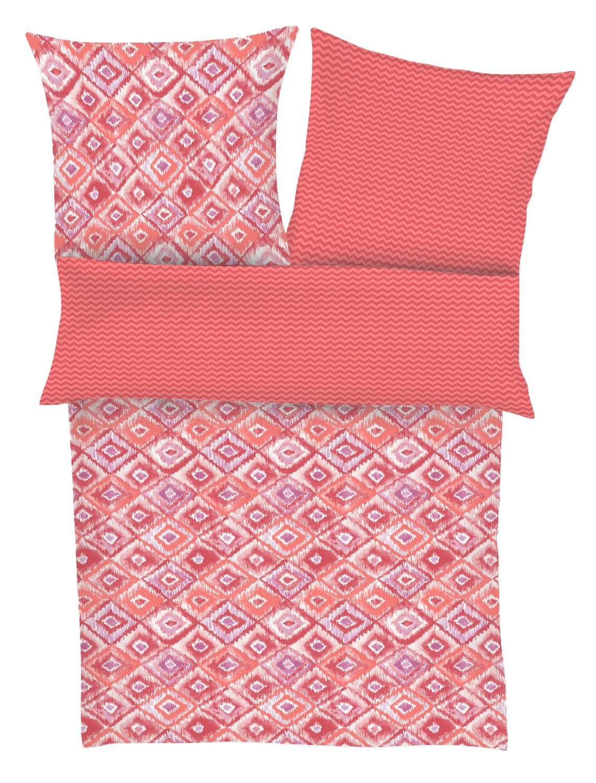 Soliver Renforce Bettwäsche 4346 450 Rot 100 Baumwolle