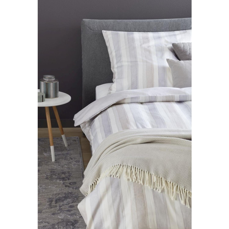 Schöner Wohnen Bettwäsche Millie Beige Grau 100 Baumwolle Pastell