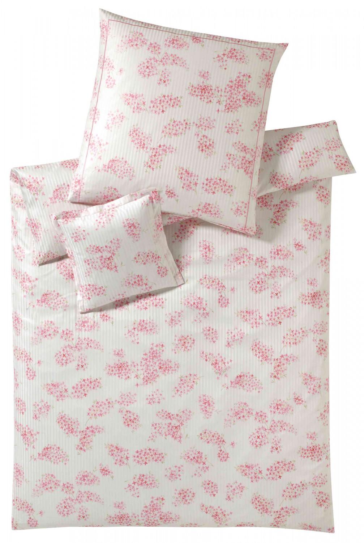 Elegante Mako Satin Bettwäsche Etienne 2121 1 Rosa Kaufen Bei