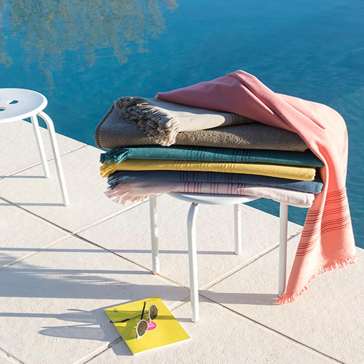 Walra Hamamtuch 100 x 180 cmSaunatuch aus 100/% Baumwolle in 6 Farben
