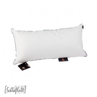SchlafKult S-LOFT Kissen 40 x 80 cm mit Polyester-Fasern Füllung