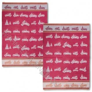PAD Geschirrtuch JOKES 2-er packung 50 x 70 cm 100% Baumwolle, weihnachtlich