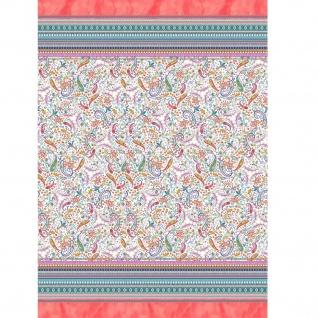 Bassetti Einrichtungsfoulard BURANO R1 mit Paisley-Muster 100% Baumwolle