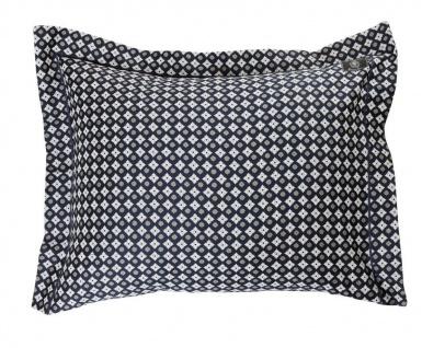 GRAND DESIGN Baumwollsatin Bettwäsche Diamond- navy 100% Baumwolle