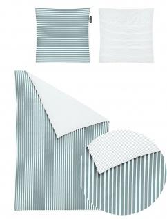 Irisette Kinder-Bettwäsche Nora 8255-20 jade 100 x 135 cm 100% Baumwolle