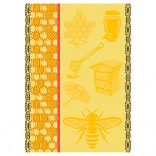 Ross Baumwolle Geschirrtuch 1642-4 Biene gelb 50 x 70 cm 100 % Baumwolle