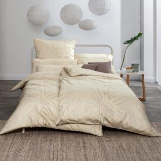 Estella Mako-Satin Bettwäsche Samuel 7371-760 vanille aus 100% Baumwolle - Vorschau 1