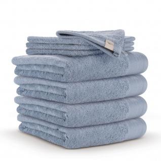 WARLA Frottierserie Soft Cotton blau