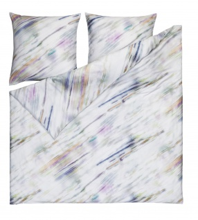 Estella Mako-Satin Bettwäsche Watercolor 4726-985 multicolor aus 100% Baumwolle - Vorschau 2