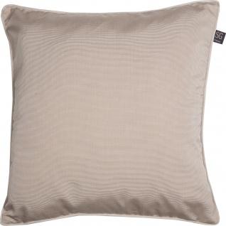 SG home Kissenhülle Minimo uni 45 x 45 cm uni Polyester mit RV klassisch elegant - Vorschau 2