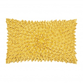 pad concept Kissenhülle Sentiment 30 x 50 cm yellow 100% Polyester