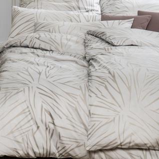 Estella Mako-Satin Bettwäsche Samuel 7371-820 silber aus 100% Baumwolle - Vorschau 3
