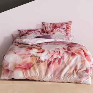 Estella Mako-Satin Bettwäsche Helix 4736-985 multicolor 100% Baumwolle modern