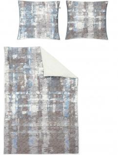 Irisette Mako-Satin Bettwäsche 8861-20 blau - Vorschau 2
