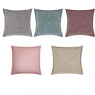 pad Kissenbezug DANDY 40 x 40 cm Baumwolle grob gewebt malierte Farbverkauf
